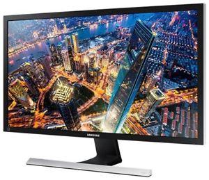 """[computeruniverse] Samsung U28E590D - 28"""" 4K UHD Monitor (3840x2160, 370cd/m², 1ms, TN, 8bit+FRC, 100% sRGB, 60 Hz, AMD FreeSync, 2x HDMI, 1x DisplayPort, VESA)"""