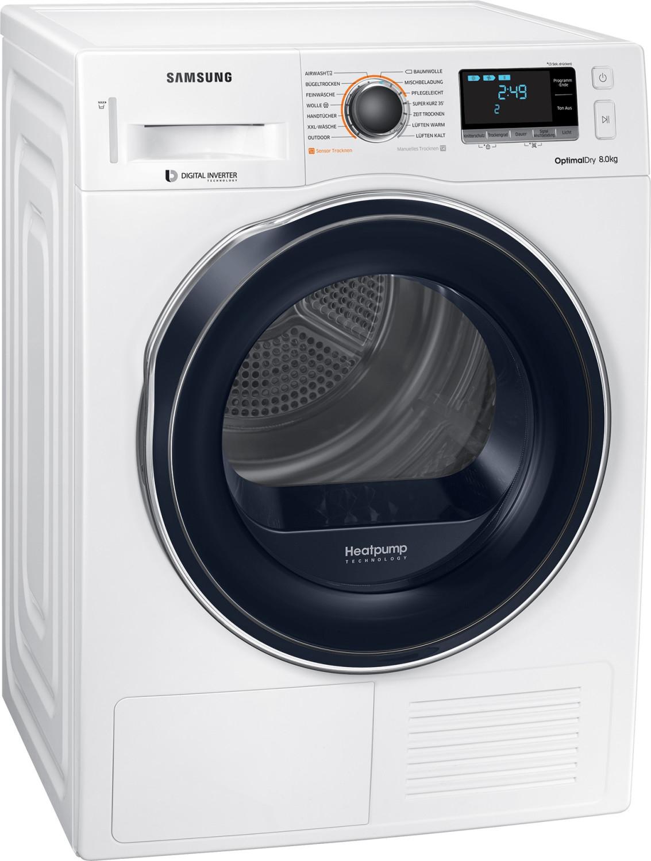 20% auf alle Haushaltselektroartikel von Samsung, z.B. Wärmepumpentrockner Samsung DV81M6210CW (A+++, 8kg, Invertermotor, Smart Check)