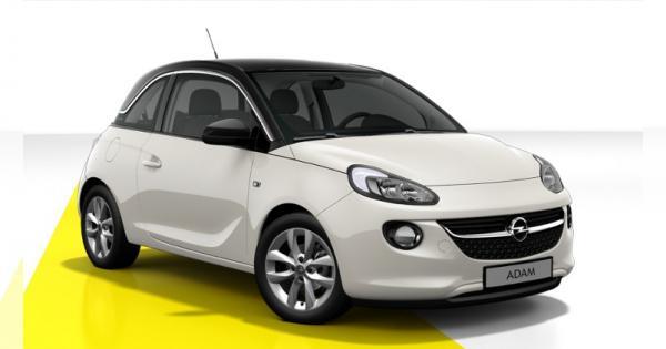 [Leasingmarkt] Opel Adam Jam, 51 kW (69 PS), Weiß (Cream White) , sofort verfügbar, Privat- & Gewerbe Leasing, 24 Monate, 0,56 Leasing-Faktor