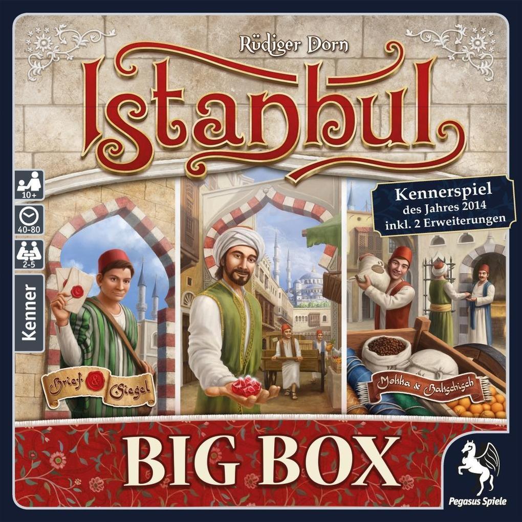 Edit: Top Brettspiel Preise bei Hugendubel durch Gutschein z.B Istanbul Big Box