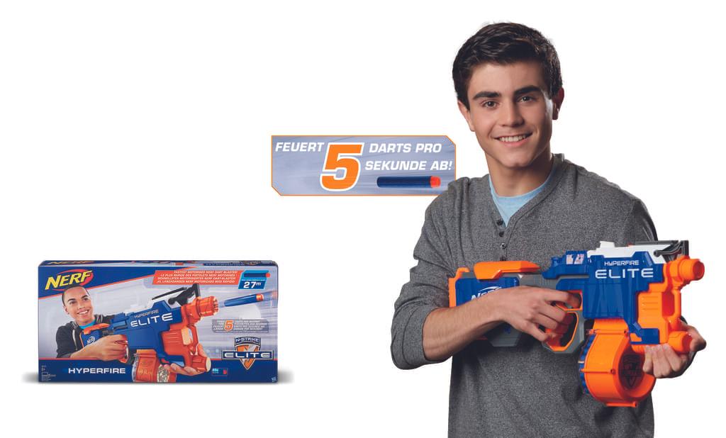 [Real.de] Nerf N-Strike Elite HyperFire B5573EU4 für 27,00€ - Amazon.de ist mitgezogen