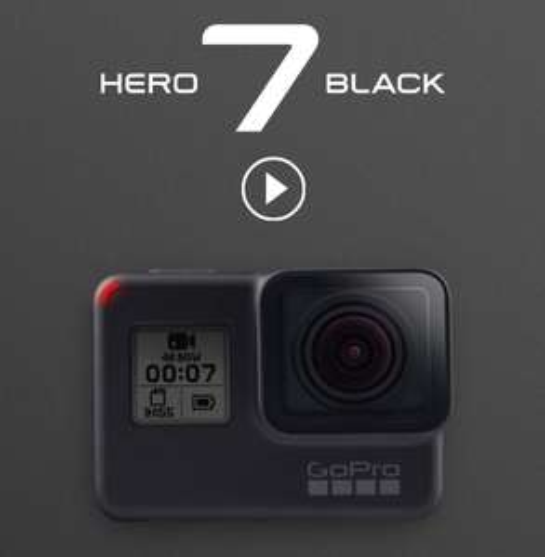 GoPro Hero 7 Black Action Cam + Sandisk Extreme 64GB Karte - mit Studenten Rabatt