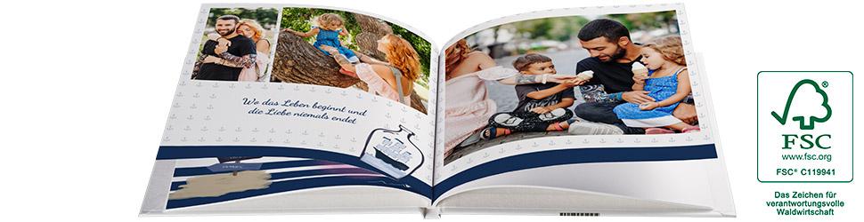 Hardcover A4 Fotobuch bis 100 Seiten + 25 % oder 10 € Rabatt [PixelNet]
