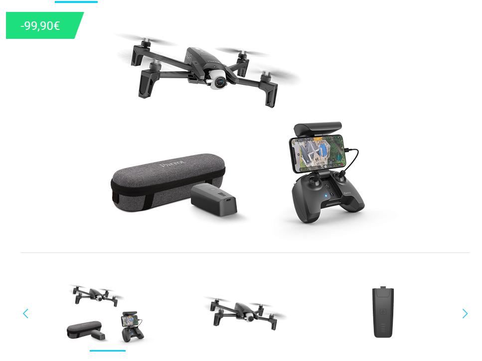 Parrot Anafi Drohne + Kostenloser Akku + Expressversand