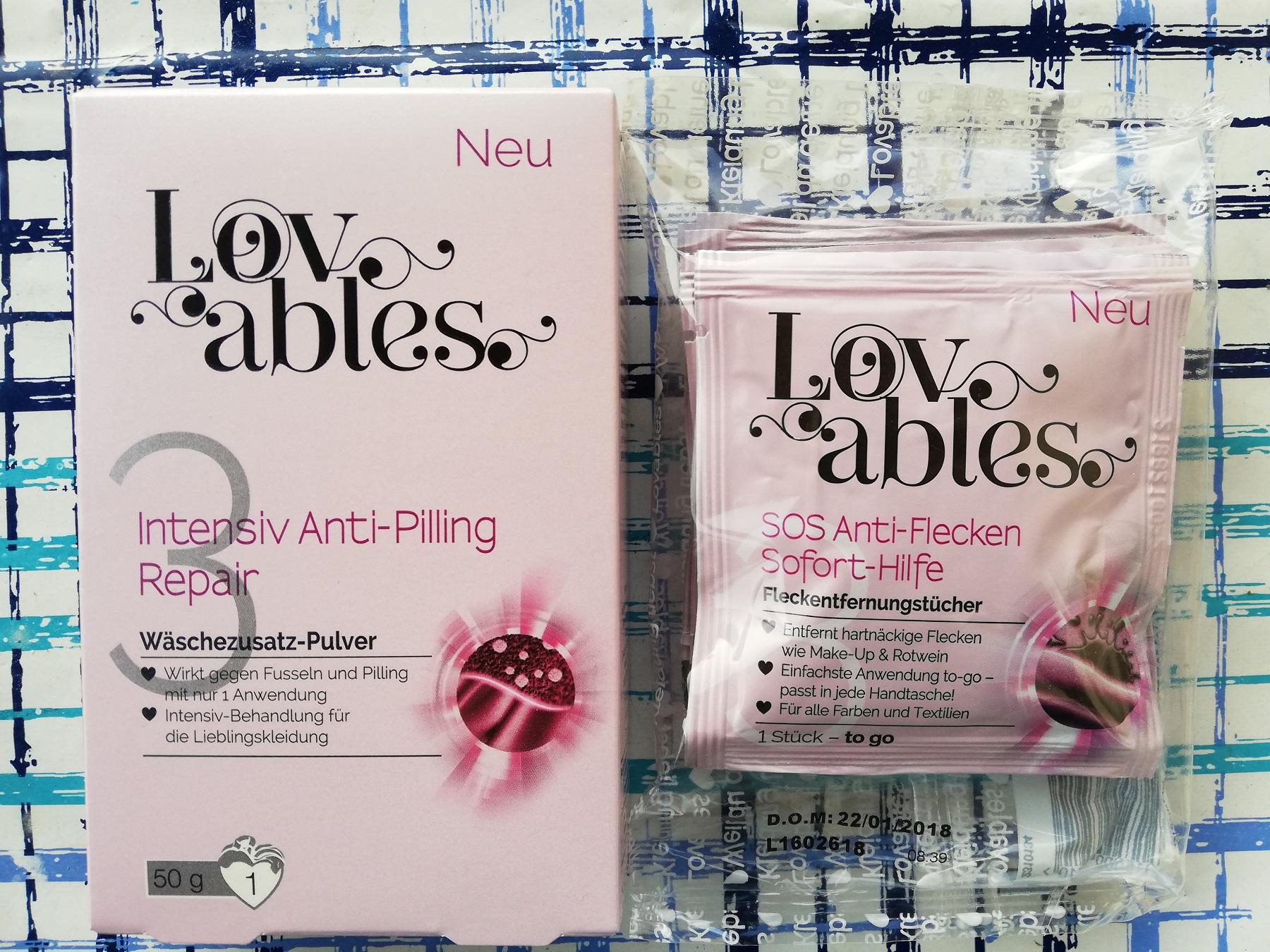 [ROSSMANN] FREEBIE! Lovabels Anti Pilling 0,80€ & SOS Tücher 1,10€ GL-Preis / 4€ Coupon