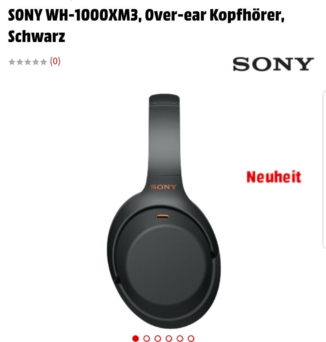 Sony WH-1000XM3 bei Saturn Media Markt 19% Aktion