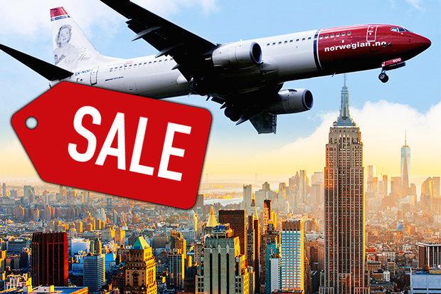 Flüge: Großer Norwegian Flug Sale ab vielen deutschen Städten