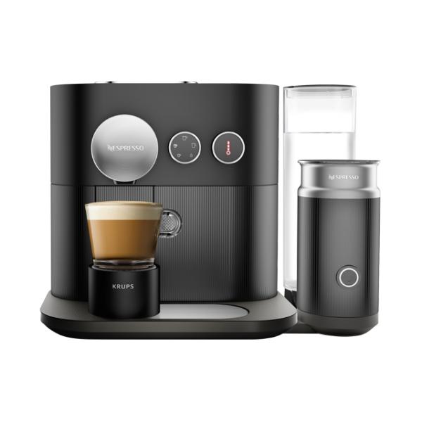[Comtech] Krups XN 6018 Nespresso Expert & Milk Kaffeekapselmaschine Schwarz + 40€ Kaffeeguthaben