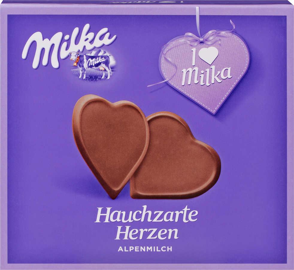 Milka - I LOVE MILKA Pralines oder hauchzarte Herzen