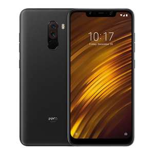 Official Global Version Xiaomi Pocophone F1 6.18 Zoll Smartphone SD 845 6GB 64GB  Face Unlock Type-C Fast Charge  Graphite Black