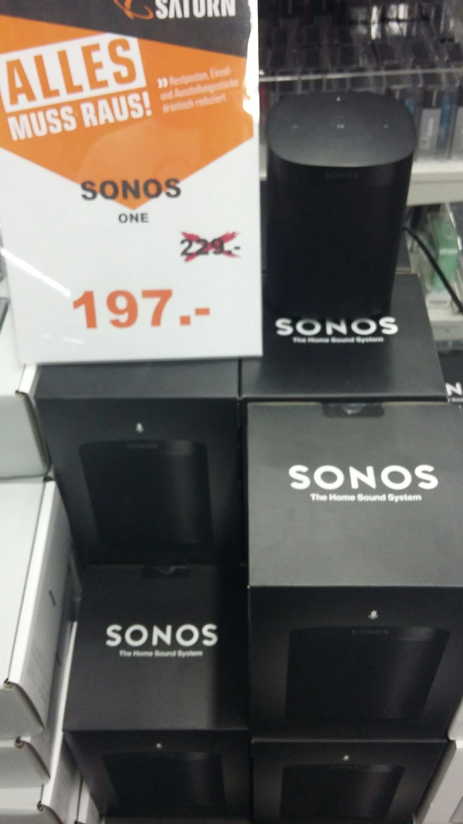 Lokal Saturn Lünen Sonos One