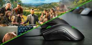 Razer DeathAdder Essential Gaming-Maus + Far Cry 5 / AC: Origins Deluxe für 43,99€ [Razer Store]