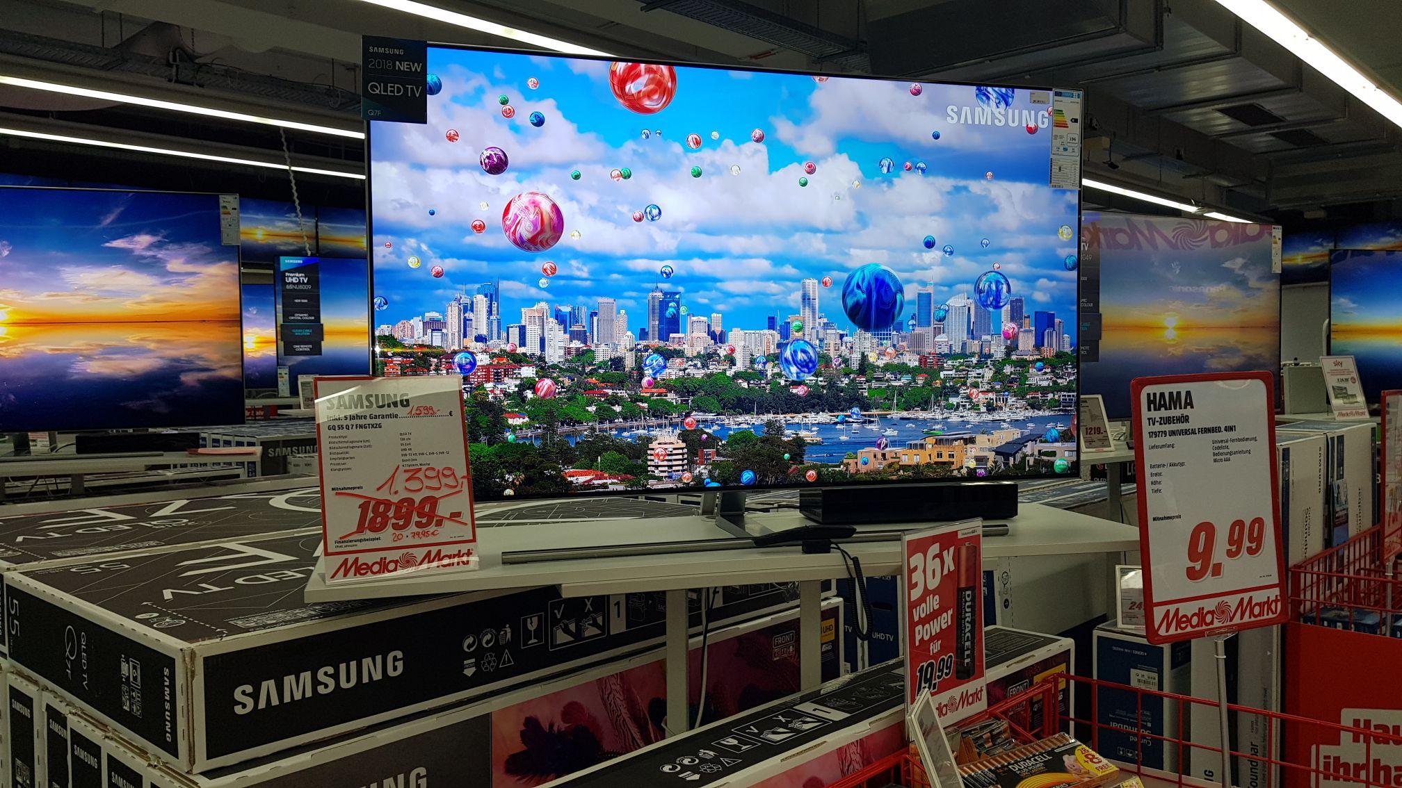 GQ55Q7FN im Media Markt Wuppertal