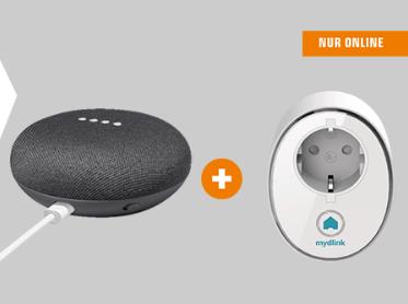Google Home Mini + D-Link DSP-W115/E Wlan Steckdose für 37,82€ (Saturn)