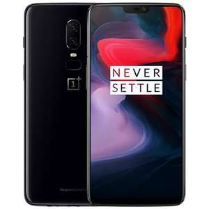 Official Global ROM Oneplus 6 6.28 Zoll AMOLED Smartphone SD 845 6GB 64GB  NFC  USB Type-C Mirror Black