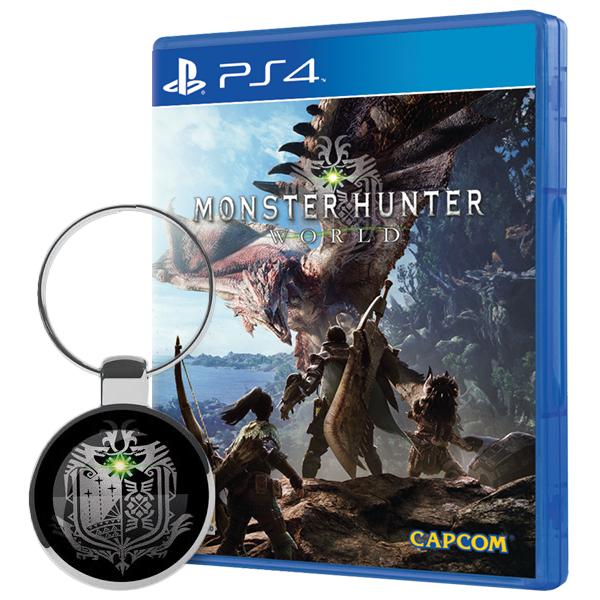 Monster Hunter World + Schlüsselanhänger (PS4/Xbox One) für 31,39€ (Shop4world)