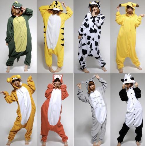 Tier Schlafanzug (geil für Halloween oder Kostümpartys) für 20€ @Ebay - Kuh, Drachen, Pikachu, Panda, etc. pp