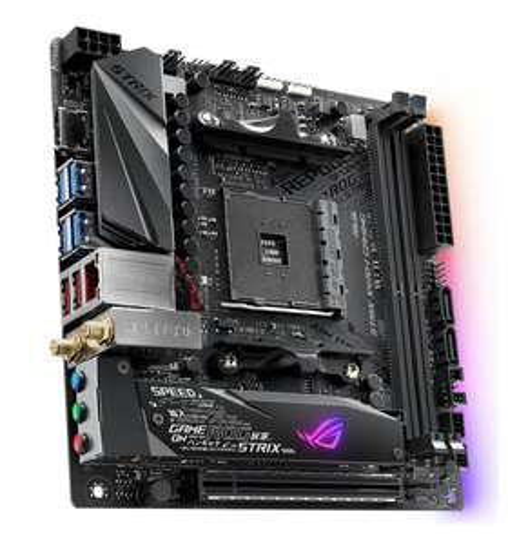 ASUS ROG Strix X470-I Gaming Mini ITX AMD Motherboard für 165,85€ @ Saturn/Mediamarkt