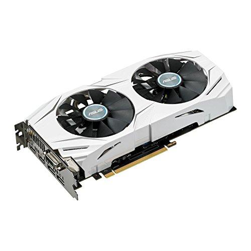 Grafikkarte ASUS Dual GeForce GTX 1070 OC, DUAL-GTX1070-O8G, 8GB GDDR5, DVI, 2x HDMI, 2x DP (90YV09T1-M0NA00)