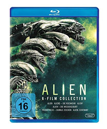 [Amazon] Alien 1-6 Blu-ray Collection [Blu-ray] für 25,20€ (Amazon Prime)