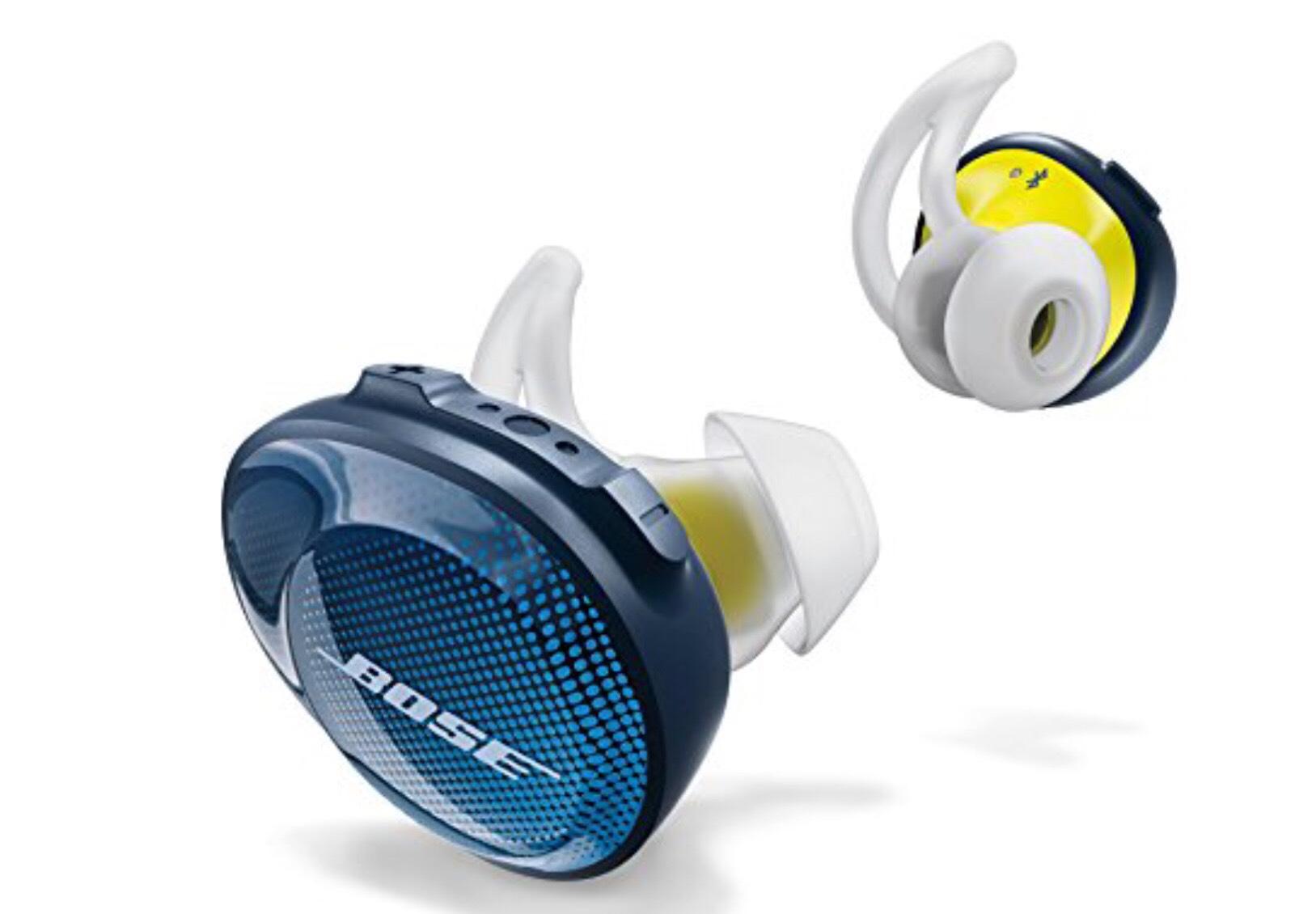 Bose SoundSport Free (Schwarz und Blau)
