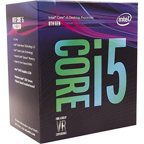 Coffee-Lake CPU Intel Core i5-8400, 6x 2.80GHz, boxed (BX80684I58400)