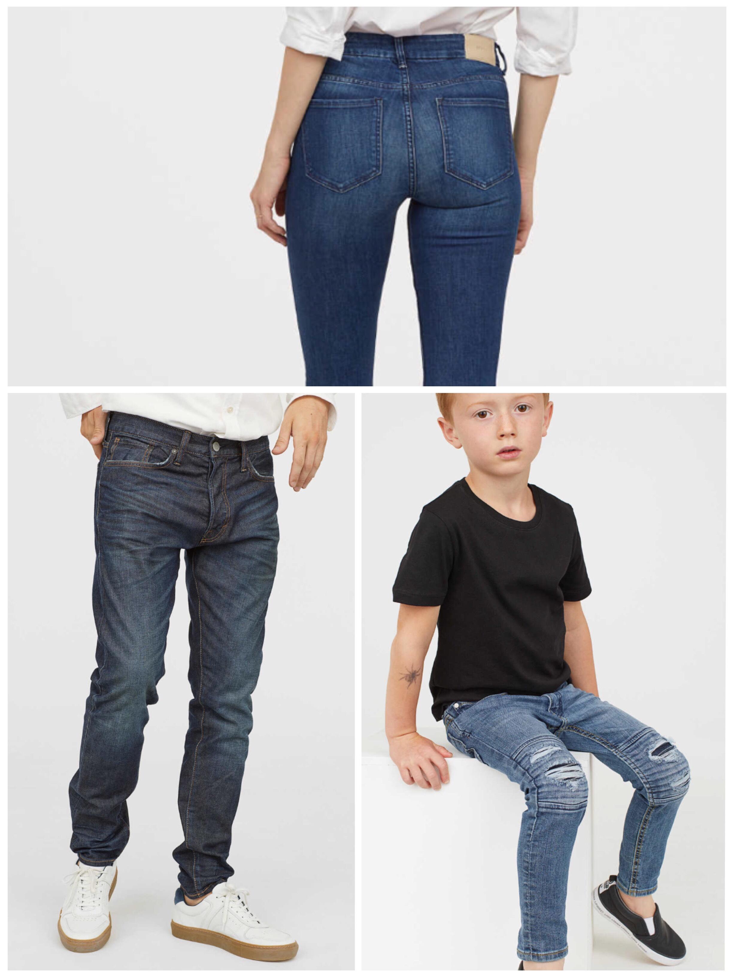 H&M 25% auf Jeans und kostenloser Versand