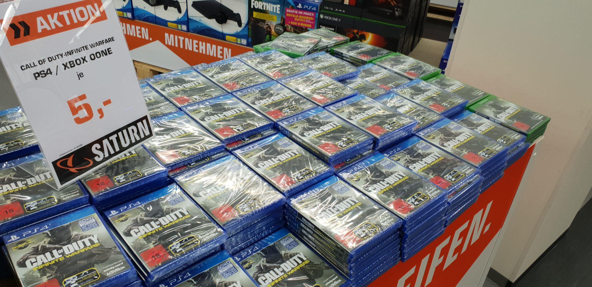 [Lokal Berlin] Saturn Europacenter - Call of Duty Infinite Warfare  PS4 und XBOX ONE