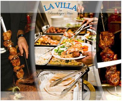 """[LOKAL MÜNCHEN] Brasilianisches Rodizio """"all you can eat"""" für 2 Personen in der """"La Villa"""" im Bamberger Haus für 26,90€"""