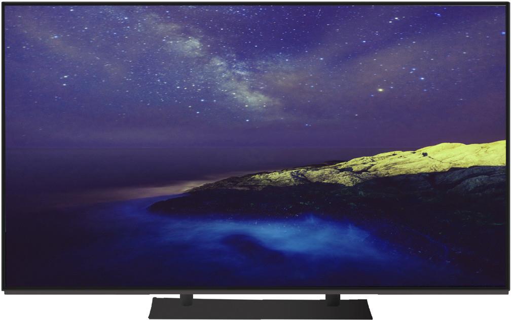 "OLED-Fernseher Panasonic TX-55EZW954 (55"", Ultra HD, 120Hz, 10bit, HDR10 & HLG, 700 cd/m², 4x HDMI, 3x USB, Firefox OS 2.5)"