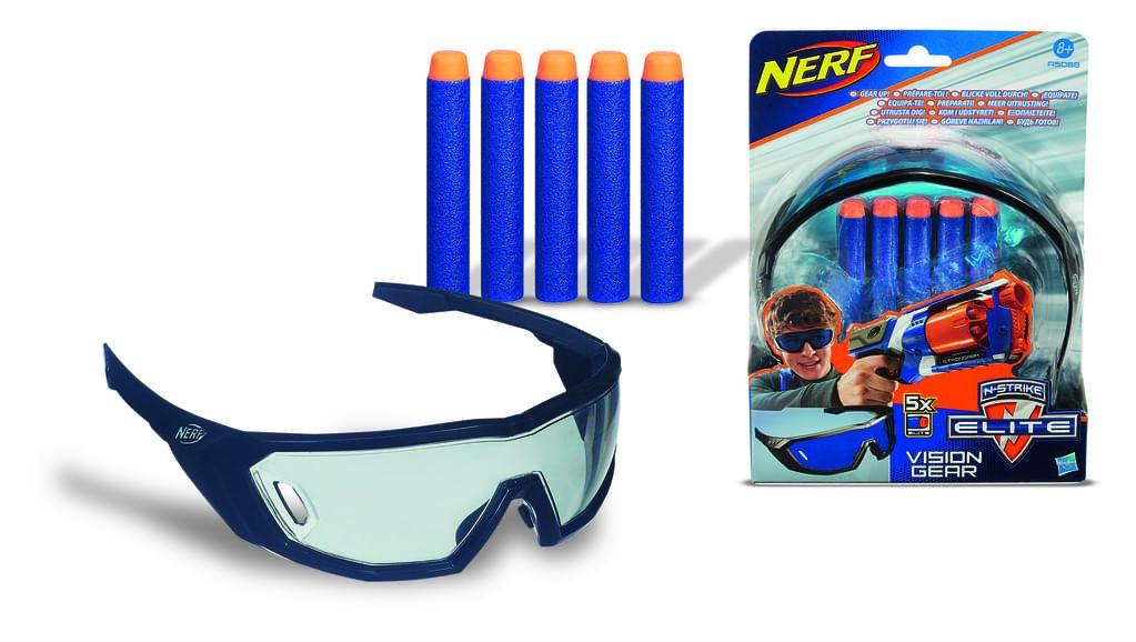 Nerf N-Strike Elite Schutzbrille + 5 Darts A5068E24
