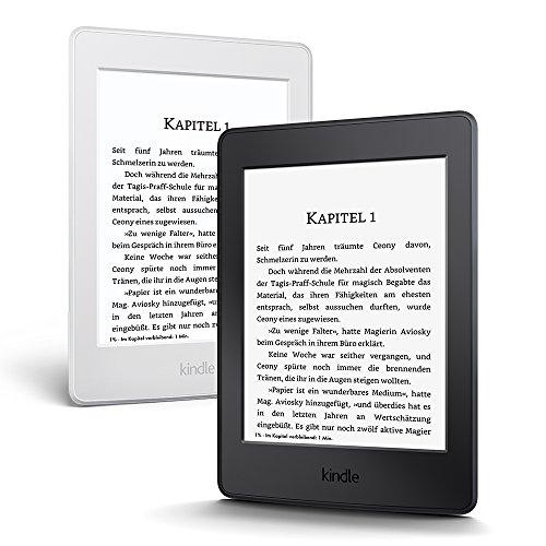Kindle Paperwhite eReader, 15 cm (6 Zoll) hochauflösendes Display (300 ppi) mit integrierter Beleuchtung