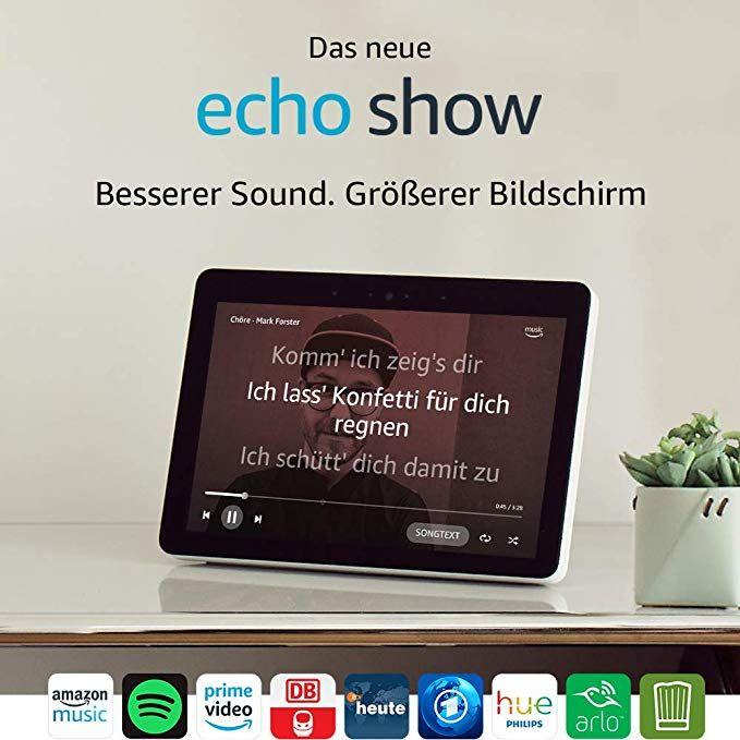 100€ Rabatt bei Kauf von 2x Echo Show 2. Gen + 2x Philips Hue Lampe @ Amazon Angebot