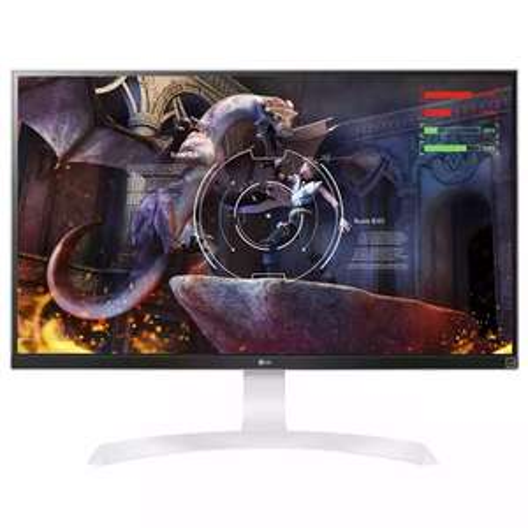 """4K-Monitor LG 27UD69P-W (27"""", 3.840 x 2.160, IPS-Panel, 8bit+FRC, 60 Hertz, 300 cd/m², 2x HDMI 2.0, 1x DisplayPort 1.2)"""