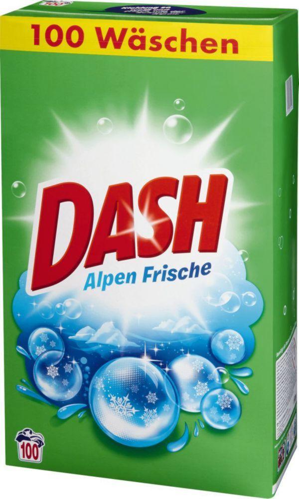 Dash Waschmittel XXXL Pack für 100 Wäschen für 8,88 bei real