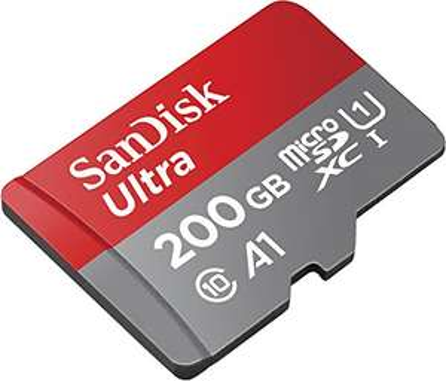 SanDisk Ultra 200GB microSDXC A1 Speicherkarte bei Amazon