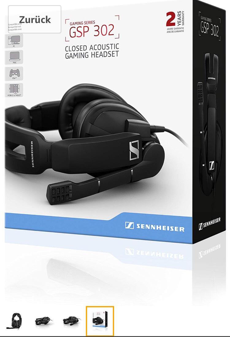Gaming Headset Sennheiser GSP 302 bei Amazon.de
