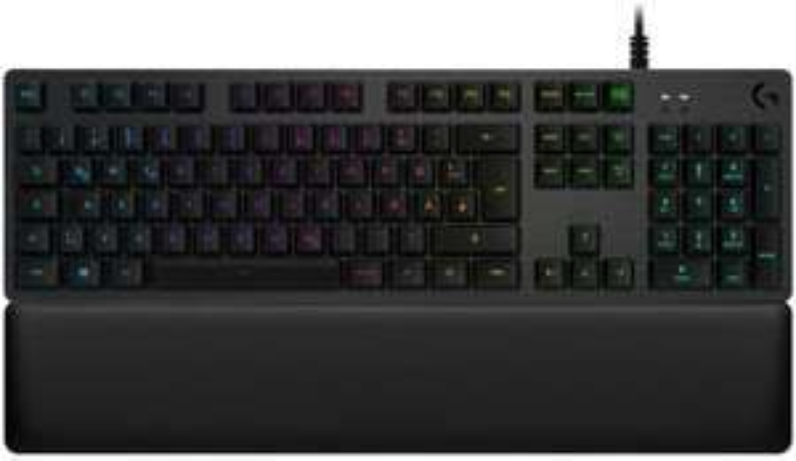 Logitech G513 Carbon mechanische Gaming-Tastatur (RGB, taktile Romer-G Tasten-Switches, Qwertz)