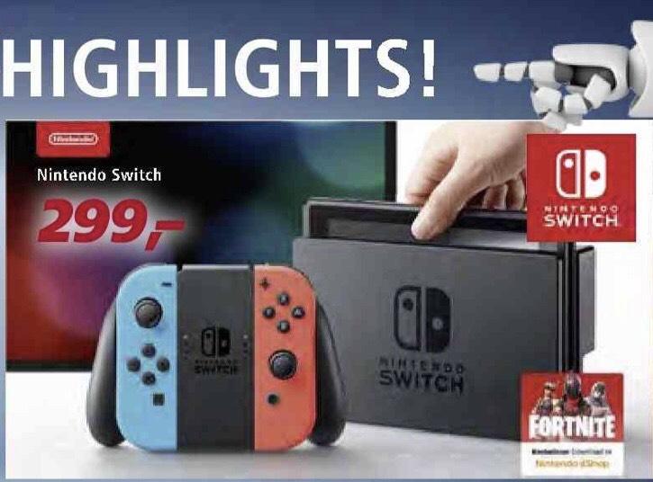 Nintendo Switch Konsole [real *offline* ab 28.09.2018]