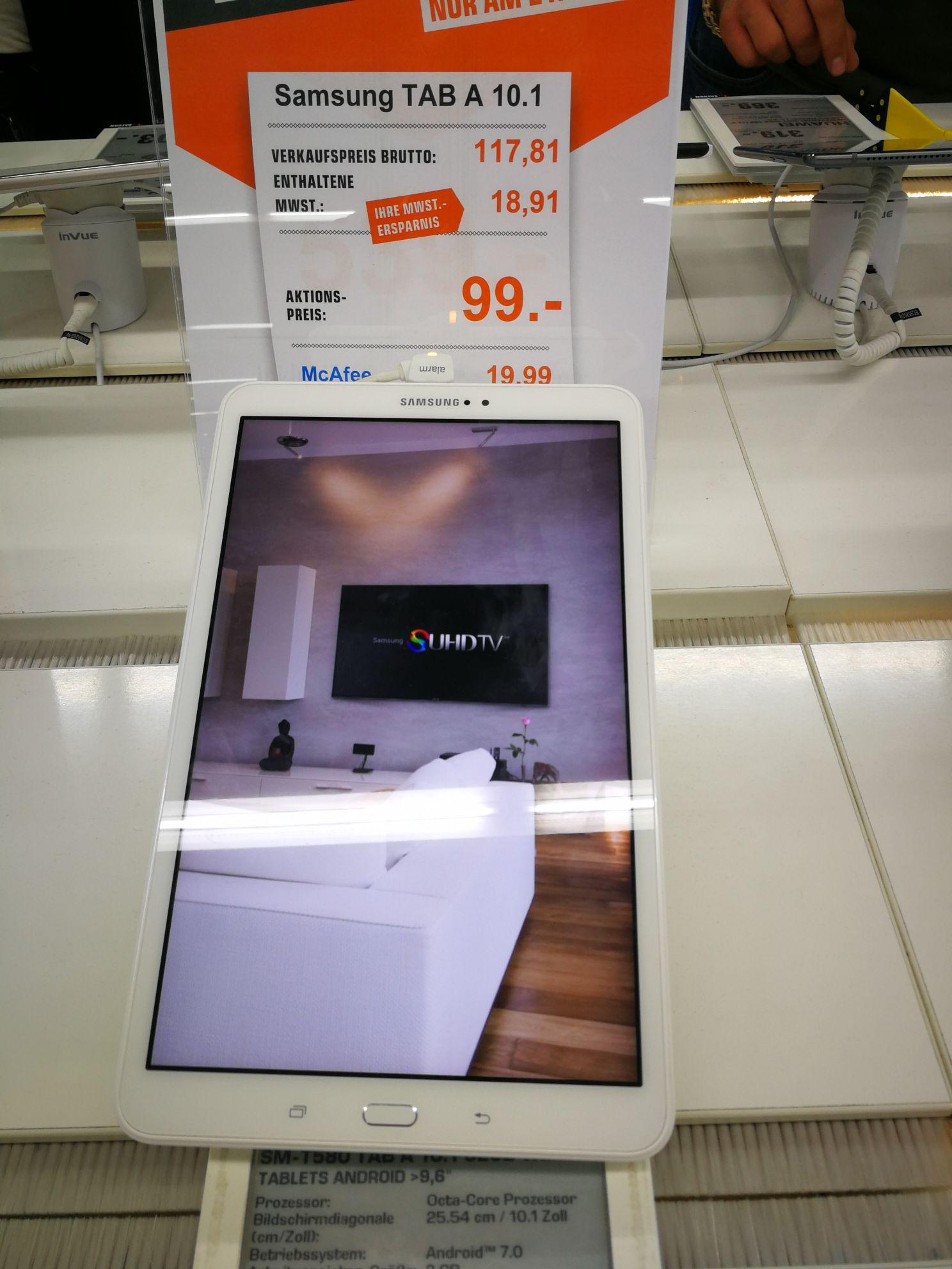 [Stuttgart] Galaxy Tab A 99€ - Saturn zieht mit