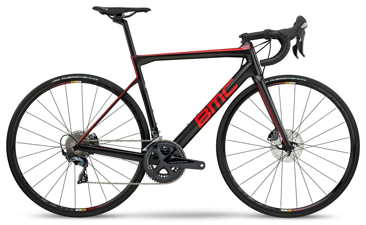 BMC Teammachine SLR02 Rennrad - Disc Ultegra Modell 2018 black/red