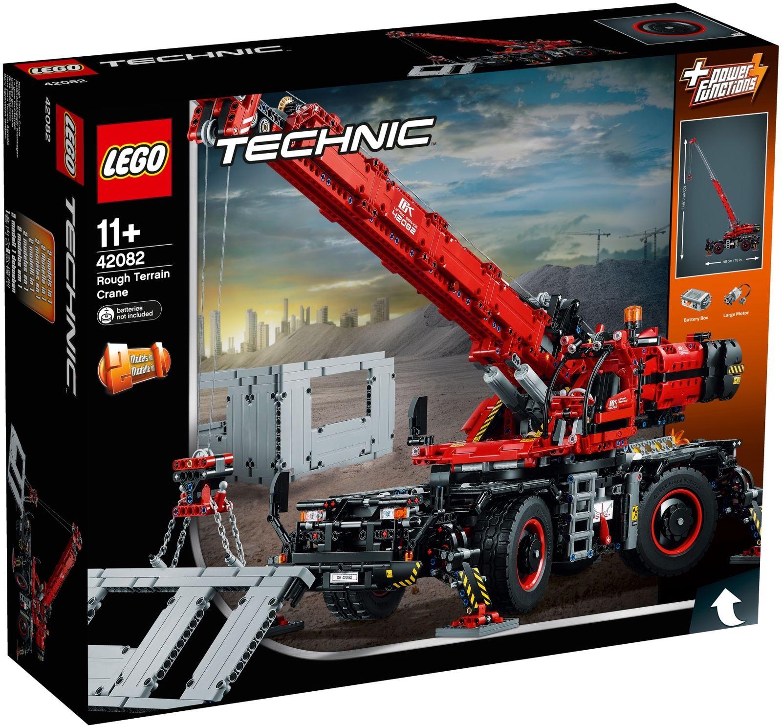 Lego Technic 42082 - Geländegängiger Kranwagen