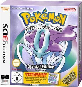 Pokemon Kristall Edition (3DS) für 8,39€ (Saturn & Media Markt)