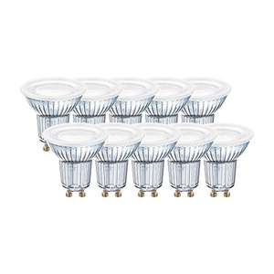 Osram LED-Reflektorlampe | Warm (2700K) | ers. 80W | GU10 - 10er Pack [Amazon.de] | 16,33 Prime