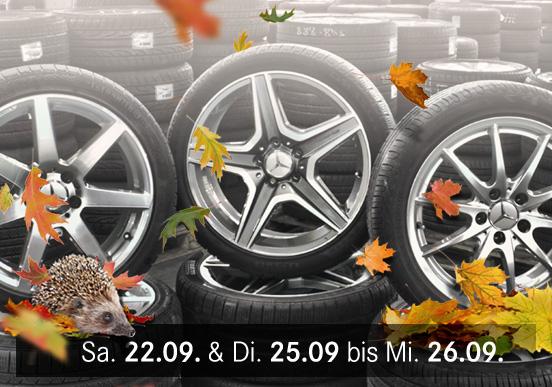 [Lokal Stuttgart] Räderabverkauf beim Mercedes-Benz Gebrauchtteile-Center