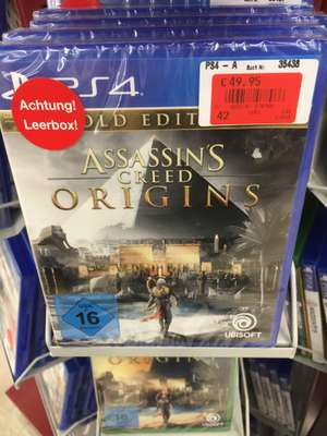 Assassins Creed: Origins Gold Edition (PS4) bei real Freising (lokal+offline)