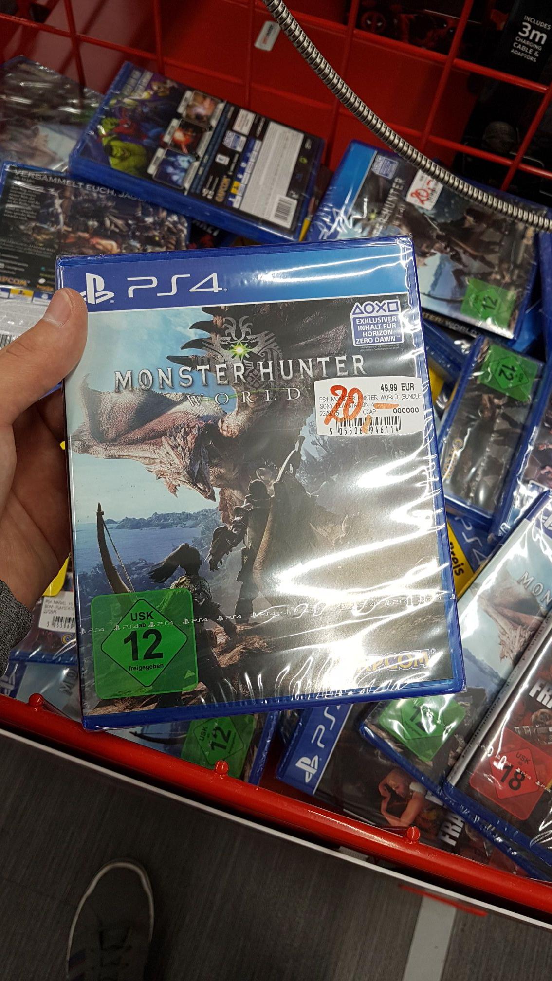 (Lokal Lübeck) Monster Hunter world PS4