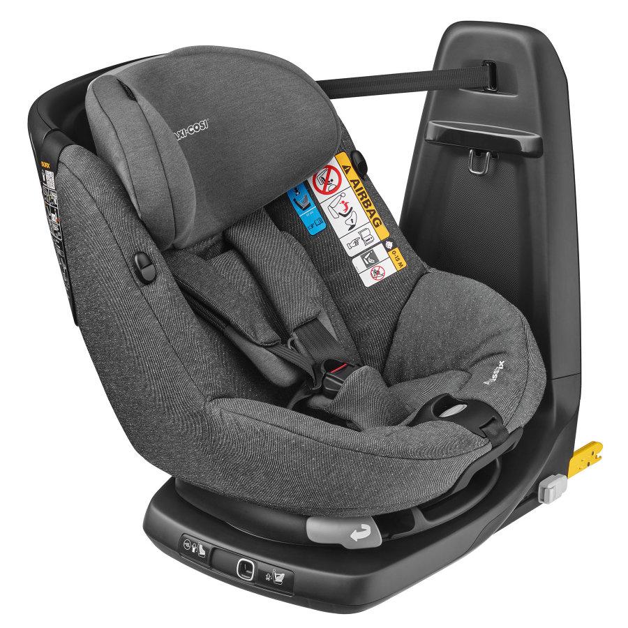 MAXI COSI Kindersitz AxissFix Sparkling Grey - guter Reboarder (4 Monate bis 4 Jahre)