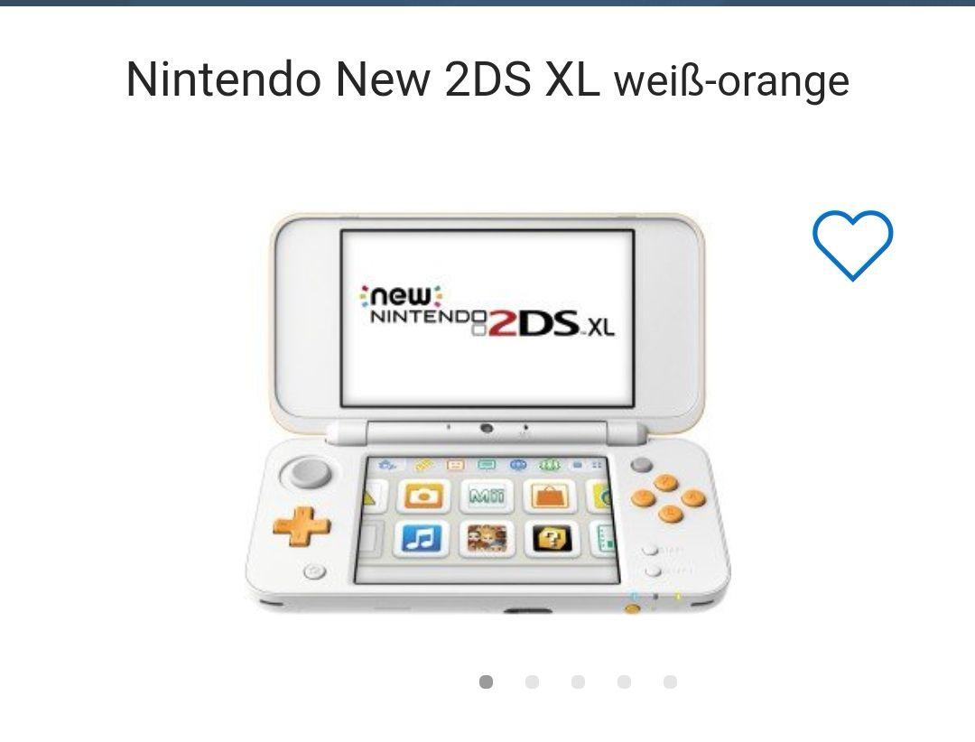 [Expert ] New Nintendo 2 DS XL Weiss Orange