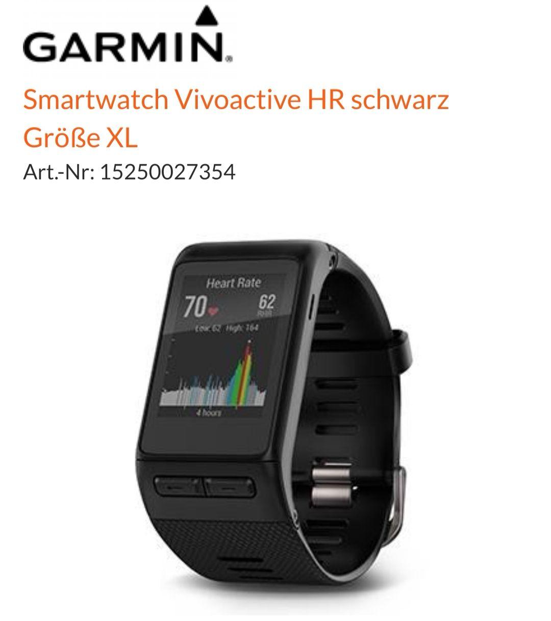 [Expert] Garmin Vivoactive HR XL